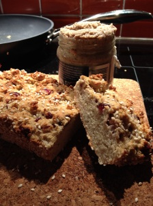 Coconut bread & Vanilla almond